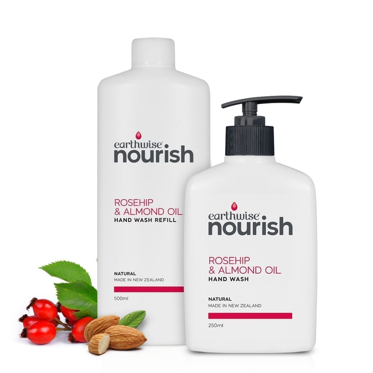 Earthwise Nourish Rosehip & Almond Oil Hand Wash